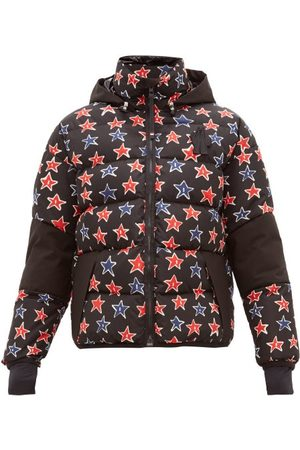 MONCLER GRENOBLE Star Print Down Filled Technical Ski Jacket - Mens