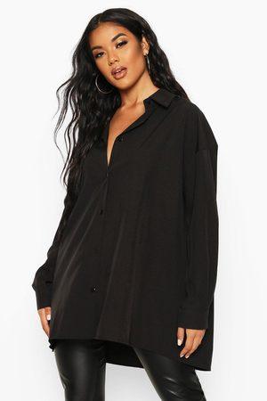 Boohoo Womens Extreme Oversized Shirt - - 4