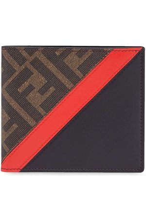 Fendi Panelled FF motif wallet