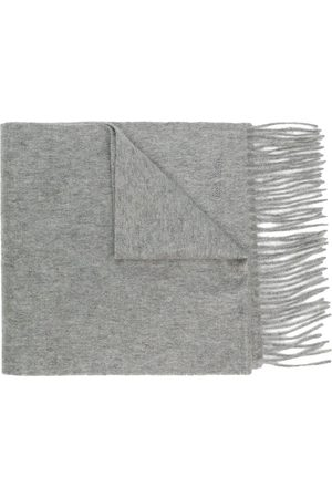 Paul Smith Knitted cashmere scarf - Grey
