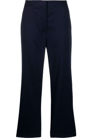 Stella McCartney Cropped straight trousers