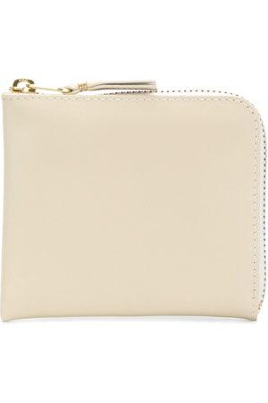 Comme des Garçons Zipped wallet - Neutrals