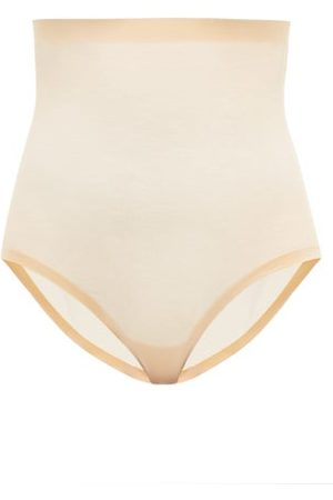 Wolford High-rise Mesh Shapewear Briefs - Womens - Nude