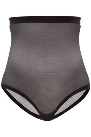 Wolford High Rise Mesh Shapewear Briefs - Womens
