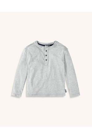Splendid Men's Little Boy Long Sleeve Henley Top