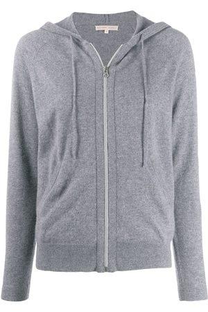 Filippa K Zip-up cashmere hoodie - Grey