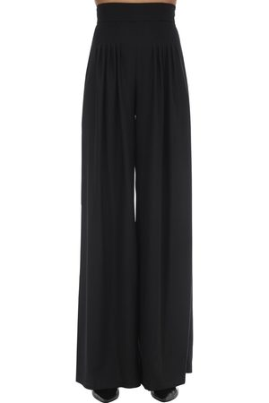 HEBE STUDIO Girlfriend Wide Leg Cady Pants