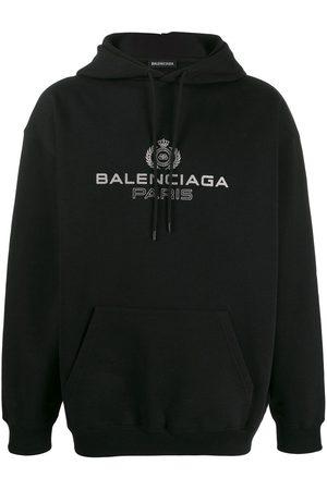 Balenciaga Men Hoodies - Logo hoodie