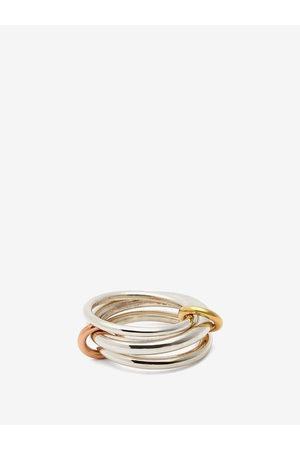 SPINELLI KILCOLLIN Daphne 18kt Gold & Sterling Ring - Womens