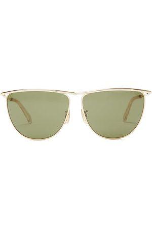 Celine Eyewear D-frame Metal Sunglasses - Mens