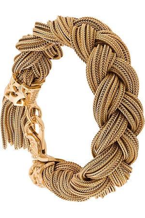EMANUELE BICOCCHI Men Bracelets - Braided cuff bracelet