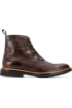 DELL'OGLIO Men Ankle Boots - Lace-up ankle boots