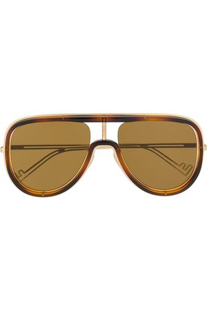 Fendi Aviators - Framed aviator sunglasses