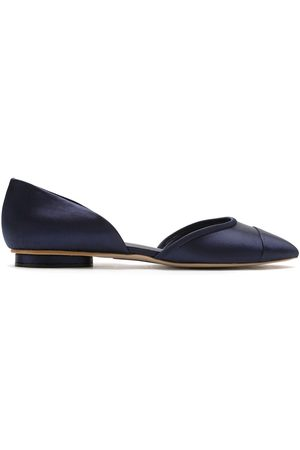 Sarah Chofakian Women Ballerinas - Satin leather ballerina shoes