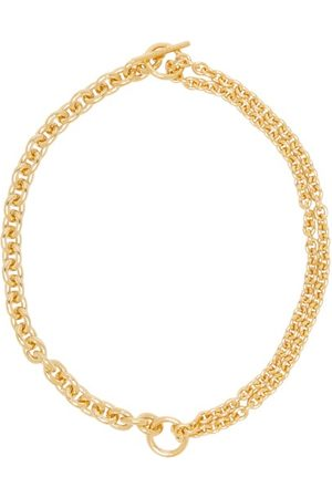 ALL BLUES Double-chain -vermeil Necklace - Womens
