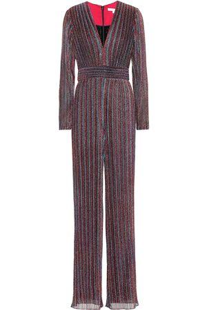 JONATHAN SIMKHAI Women Jumpsuits - Metallic striped jumpsuit