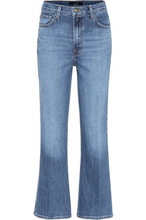 J Brand Julia high-rise cropped jeans