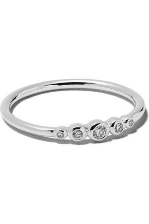 ASTLEY CLARKE 14kt diamond mini Icon Nova ring