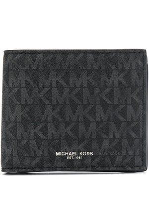 Michael Kors Men Wallets - Logo-print foldover wallet