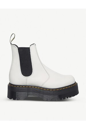 Dr. Martens Women Heeled Boots - 2976 platform leather Chelsea boots