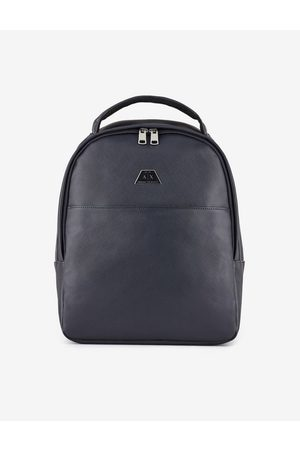 Armani Backpack Navy Polyester