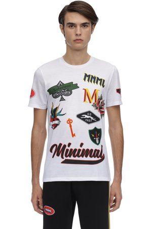MINIMAL Men T-shirts - T-shirt W/patches