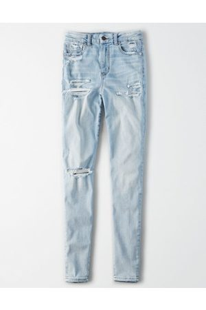 American Eagle Outfitters Ne(X)t Level Curvy Super High-Waisted Jegging Women's 2 Long