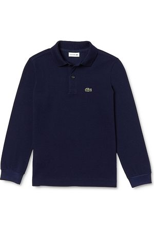 Lacoste Boys' Classic Pique Long-Sleeve Polo - Little Kid, Big Kid