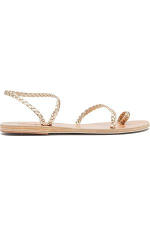 Ancient Greek Sandals Eleftheria Braided Leather Sandals - Womens