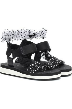 Midnight 00 Tulle sandals