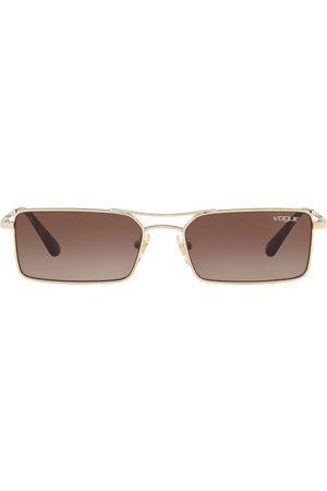 vogue Gigi Hadid square-frame sunglasses