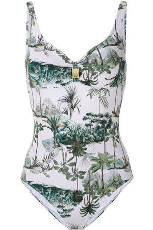 Lygia & Nanny Roberta printed swimsuit