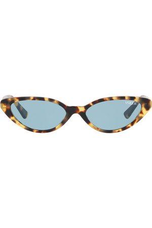 vogue Gigi Hadid capsule tortoiseshell round glasses