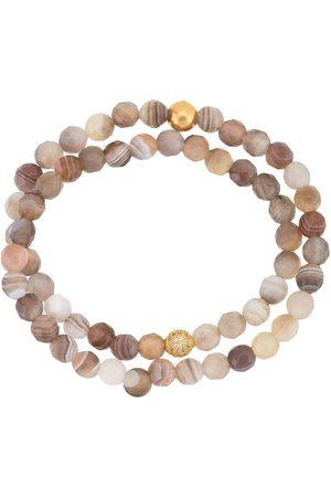 Nialaya Beaded double-strand bracelet - Multicolour