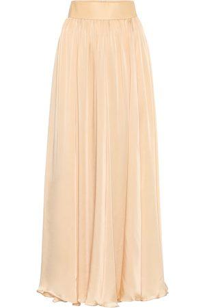 ZIMMERMANN Silk-chiffon maxi skirt