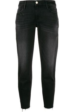 Frame Women Jeans - Le Garcon cropped jeans