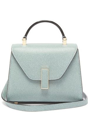 VALEXTRA Iside Micro Grained Leather Bag - Womens - Light