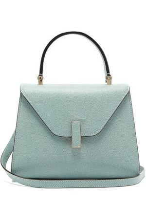 VALEXTRA Iside Mini Grained Leather Bag - Womens - Light
