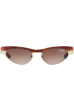 vogue Gigi Hadid capsule low frame sunglasses