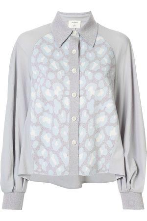Onefifteen Contrast knitted shirt