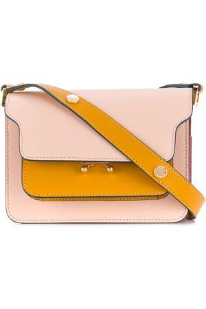 Marni Women Shoulder Bags - Panelled colour block shoulder bag