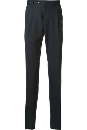LARDINI Men Formal Pants - High-waisted tailored trousers