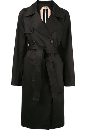 Nº21 Double breasted trench coat