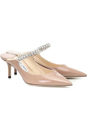 Jimmy Choo Bing 65 patent leather mules