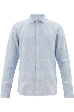 Orlebar Brown Giles Linen Shirt - Mens