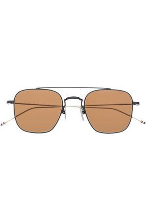 Thom Browne Aviators - Square-aviator sunglasses