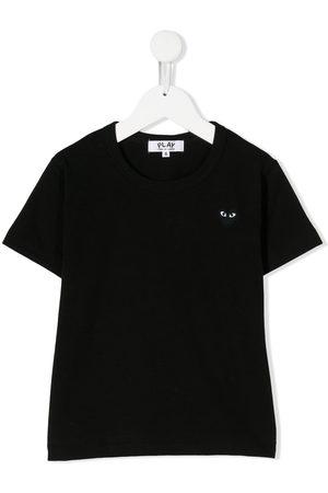 Comme des Garçons Chest logo patch T-shirt