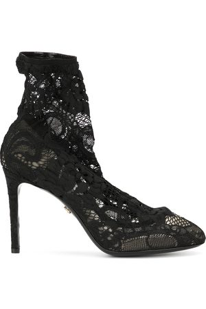 Dolce & Gabbana Stretch lace boots