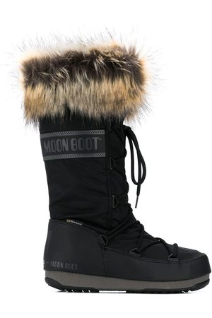 Moon Boot Women Snow Boots - Fur-trimmed snow boots