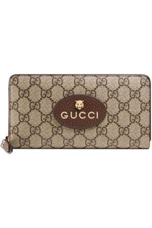 Gucci Neo Vintage GG Supreme zip around wallet - Neutrals